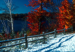 Michigan's Upper Peninsula, early snow during first week of October