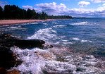 Keweenaw Peninsula's Lake Superior shore at Black Rock Point