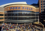 Detroit's Ford Field, home of NFL Detroit Lions
