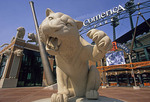 Detroit's Comerica Park, home of Major League Baseball's Detroit Tigers