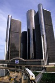 Detroit's Renaissance Center, home of General Motors Corporation Headquarters