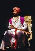 Annual Jaisalmer Desert Festival, Rajasthani man with sword