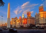 Buenos Aires Obelisk on 9th of July Avenue