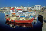 Paros fishing boats at Naoussa harbor