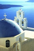 Santorini's Greek Orthodox Church of Kimis Theotokov