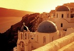 Santorini Greek Orthodox Churches in Oia (Ia)