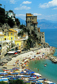 Amalfi Coast, Cetara Village beach
