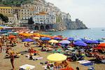 Amalfi Coast, beach at Amalfi