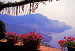 Amalfi Coast view from Ravello
