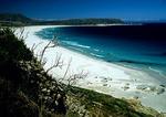 Cape Town's vast Noordhoek beach looking toward Kommetjie on the Cape Peninsula