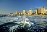 Durban's Indian Ocean waterfront