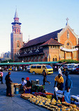 Durban's Indian Market area in central city