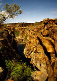 Bourke's Luck potholes in the Blyde River Canyon