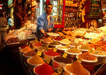 Istanbul merchant in the Egyptian or Spice Bazaar