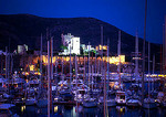 Bodrum's Castle of the Knights of St. John (aka Castle of St. Peter or the Petronion) and marina