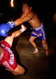 Bangkok Kick Boxing (Muay Thai) exhibition at the Rose Garden