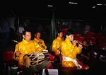 Bangkok's Lumpinee Stadium band at bouts of Muay Thai (Kick Boxing)