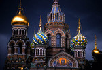 St. Petersburg's Church of the Savior on the Spilled Blood.