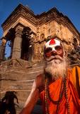 Kathmandu Sadhu (Hindu holy man) near Durbar Square