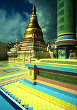 Mandalay's Soon U Ponya Shin Pagoda at Sagaing