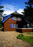Curonian Spit's Thomas Mann house