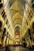 Notre Dame de Paris cathedral interior