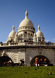 Paris Basilica of Sacre Coeur (La Basilique du Sacre Coeur de Montmartre)
