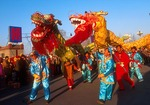 Dragon Dance at Lunar New Years/Spring Festival in Beijing