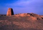 Ancient Great Wall at Jiuquan, Gansu, built in Han dynasty, 206BCE-220AD
