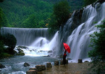 Guangxi's Lipo County waterfalls