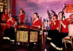 Traditional Chinese instrument orchestra performing in Qingdao
