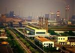 Shanghai's Baoshan Iron & Steel Company (Baosteel) complex