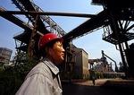 Shanghai's Baoshan Iron & Steel Company (Boasteel) worker/engineer