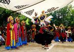 Tibetan Opera at Shoton Festival at Lhasa's Norbulinka park