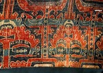 Ancient silk brocade from Northern dynasty, 386-581 AD, found along the  Silk Road