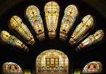 Sydney's Queen Victoria Building, stained glass windows
