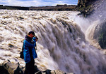 Iceland's Dettifoss Waterfall, largest in Europe