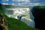Iceland's Gullfoss Waterfall