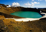 Iceland's Hverfjall volcanic crater