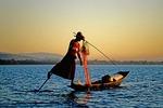 Lake Inle Intha leg rower