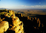 Valley of Desolation in Camdeboo National Park in the Groot Karoo of the Eastern Cape of South Africa