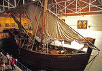 Portugese Caravel replica in Batolomeu Dias Museum