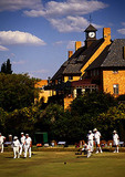 Lawn bowling at Wanderers private club in Joburg suburb of Sandton