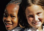 South African school girls in Johannesburg