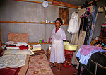 Soweto (Southwest Township) low income house interior