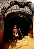 Little Zulu at Shakaland in KwaZulu-Natal