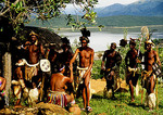 Zulu courtship reenactment at Shakaland in KwaZulu-Natal