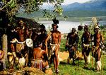 Zulu courtship reenactment at Shakaland in KwaZulu-Natal