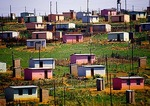 Rural housing for Zulus in KwaZulu-Natal