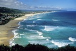 Western Cape coast on the Indian Ocean at Wilderness